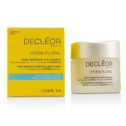 Decleor Hydra Floral Neroli & Moringa Anti-Pollution Hydrating Gel-Cream - Normal to Combination Skin  50ml/1.7oz