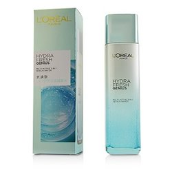 L'Oreal Hydrafresh Genius Multi-Active 3-In-1 Genius Water  130ml/4.4oz