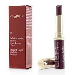 Clarins Eclat Minute Instant Light Lip Balm Perfector - # 08 Plum  1.8g/0.06oz