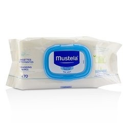 Mustela Cleansing Wipes - Delicately Fragranced (For Normal Skin)  70wipes