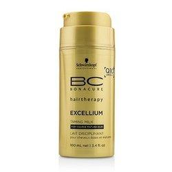 Schwarzkopf BC Excellium Q10+ Omega 3 Taming Milk (For Coarse Mature Hair)  100ml/3.4oz