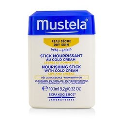 Mustela Nourishing Stick With Cold Cream (Lips & Cheeks) - For Dry Skin  9.2g/0.32oz