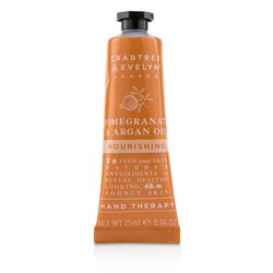 Crabtree & Evelyn Pomegranate & Argan Oil Nourishing Hand Therapy  25ml/0.86oz