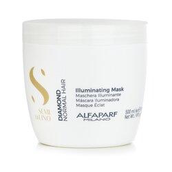 AlfaParf Semi Di Lino Diamond Illuminating Mask (Normal Hair)  500ml/17.4oz