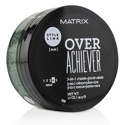 Matrix Style Link Over Achiever 3-in-1 Cream+Paste+Wax (Hold 4)  49g/1.7oz