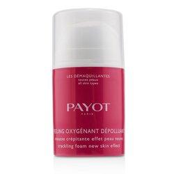 Payot Les Demaquillantes Peeling Oxygenant Depolluant - Cracking Foam New Skin Effect  40ml/1.35oz