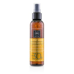 Apivita Suncare Tanning Body Oil SPF 30 With Sunflower & Carrot  150ml/5oz