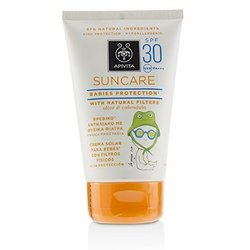 Apivita Suncare Babies Protection SPF 30 With Natural Olive & Calendula  100ml/3.4oz