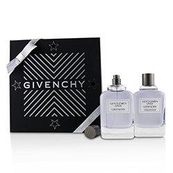 Givenchy Gentlemen Only Coffret: Eau De Toilette Spray 100ml/3.3oz + After Shave Lotion 100ml/3.3oz  2pcs