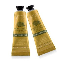 Crabtree & Evelyn Tarocco Orange Eucalyptus & Sage Awakening Hand Therapy Duo Pack  2x25ml/0.86oz