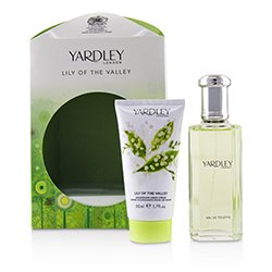 Yardley London Lily Of The Valley Coffret: Eau De Toilette Spray 50ml/1.7oz + Nourishing Hand Cream 50ml/1.7oz  2pcs
