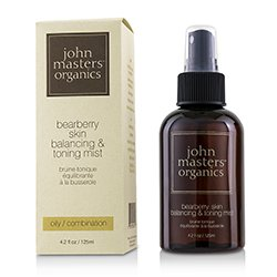 John Masters Organics Bearberry Oily Skin Balancing & Toning Mist (For Oily/ Combination Skin)  125ml/4.2oz
