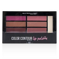メイベリン Color Contour Lip Palette - # 02 Blushed Bombshell  5g/0.17oz
