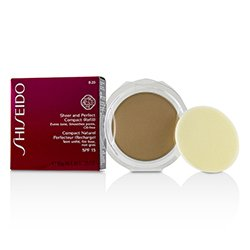Shiseido Sheer & Perfect Compact Foundation SPF15 (Refill) - #B20 Natural Light Beige  10g/0.35oz