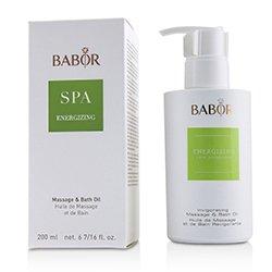 芭宝  Babor SPA Energizing Massage & Bath Oil  200ml/6.7oz