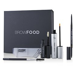 LashFood BrowFood Brow Transformation System - # Brunette (Light/Medium)  5pcs